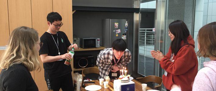 Kirim's birthday party!